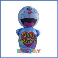 Balon tiup tinju Doraemon pasir