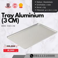 Loyang Aluminium / Tray Aluminium 60x40x3