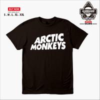 Kaos Baju Band Arctic Monkey Kaos Musik - Karimake