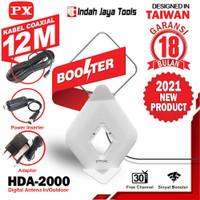 PX HDA-2000 ANTENA TV Digital Indoor Outdoor Antene PX HDA2000 Booster