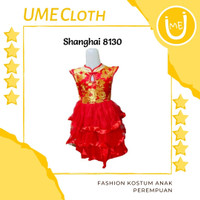 Cheongsam Cewek / Baju Imlek Shanghai Anak Perempuan #8130 #8130A - S, 8130
