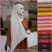 Pashmina Diamond 175 x 75 SABYAN ( Jahit tepi ) PART 1 - Tulis dicatatan