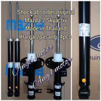 shock breaker absorber mazda 2 skyactiv depan & belakang 4pcs original