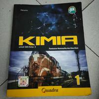 buku kimia untuk SMA kelas X K 2013 terbitan quadra