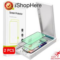 2buah Anti Blue Light Tempered Glass Anti Gores iPhone 12 Mini Pro Max