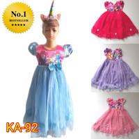 Baju KA92 Promo Dress Anak Perempuan 2-9 tahun Dress Princess Gaun