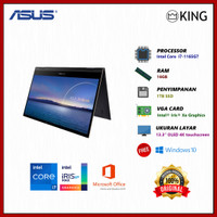 ASUS ZENBOOK FLIP S UX371EA i7-1165G7 16GB 1TB SSD FREE OHS