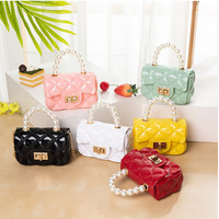 Tas Selempang Mini / Tas Handbag / Jelly Bag Mutiara 9074-1