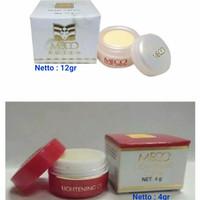 Meco Cream Pearl 12gr | Cream Lightening 4gr - Untuk Hilangkan Noda