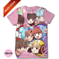 Baju BTS Anak Perempuan Wanita Kaos BTS Dewasa #REG-492