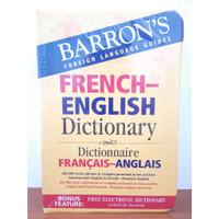 Kamus Bilingual Bahasa Perancis - Inggris, Inggris-Perancis