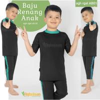 Baju Renang Anak Laki Stelan Atas Bawah Aghnisan - Size M, Tanya Stok Dulu
