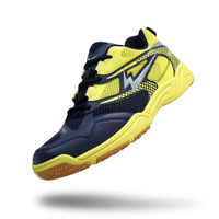Sepatu Eagle Orbit Biru Tua/Kuning - Badminton Shoes - 37