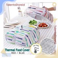 Tudung Saji lipat Besar Penahan Panas Heat Insulated Food Cover