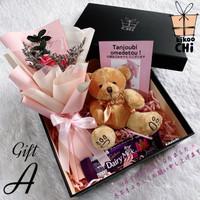 Gift Box Hadiah Ulang Tahun Cewek Kado Pacar Anniversary Wisuda Istri