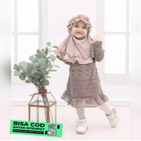 Hijab Kerudung Jilbab Anak Bayi Lucu Murah Instan MOTIF SYIRIA KRIWIL