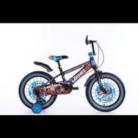 Sepeda BMX 18 inch Michel Inferno ban jumbo besar 793 not trex