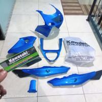 full fairing full cover body ninja rr old biru muda original Kawasaki