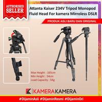 Attanta Kaiser 234V Tripod Monopod Fluid Head For Mirroless DSLR