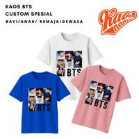Baju Kaos Square Bts Untuk Bayi Anak dan Dewasa KaosNama