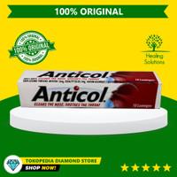 Anticol Throat Lozenges isi 10 Permen Pelega Tenggorokan