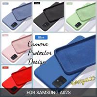 softcase Samsung A02S case anti noda silicon bahan lentur a02s