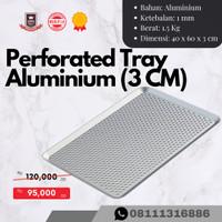 Loyang Aluminium Perforated / Tray Aluminium Perforated 60x40x3