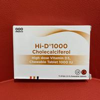 HI D 1000 IU vitamin D3