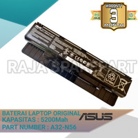 Baterai Laptop Asus N46 N46JV N46VB N46VMN N46J N46V N46VJ N46VZ Ori