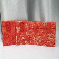 Dompet Angpao Kain Chinese Knot Kado Sangjit Imlek Premium Uk Besar