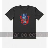 kaos baju anak kids Transformers optimus prime Logo/Viral/-Terbaru