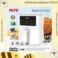 Digital Air Fryer Mito AF1 4L Low Watt - Garansi Resmi - 100% Baru