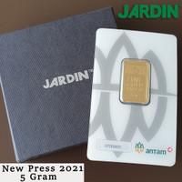 Emas Batangan 5 Gram - Antam - Reinvented/New Press |LM/Logam Mulia|
