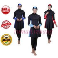 Baju Renang muslim Dewasa (RMD 05) - M, KOMBINASI ABU