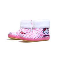 sepatu boots hello kitty boot pink polka anak perempuan lucu unik BM-5