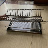 rak piring stainless kitchen set 60cm