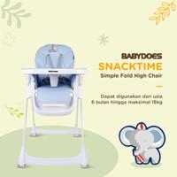 Babydoes High Chair Snack Time - Biru