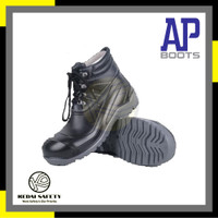 Sepatu Safety/ Safety Shoes/ Sepatu Proyek/ Boots Merk AP MaX -KS