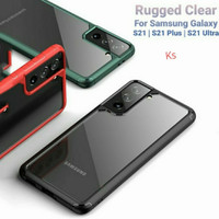 Case Samsung Galaxy S21/S21 Plus/S21 Ultra Hybrid Rugged Clear Cover