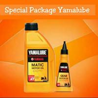Paket Spesial Oli Motor Yamaha Yamalube Matic 800ml & Gear 100ml