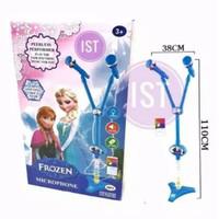 Mainan Mik Karaoke Anak Microphone Frozen
