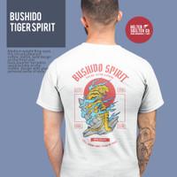 Kaos Baju Macan Tiger Bushido Spirit Distro - XL