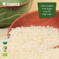 TERRICE 100% Organic White Rice Low Sugar Low Fat High Fibre 1Kg