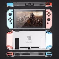 Nintendo Switch Crystal Case Mika Dockable Clear Casing Bening v1 v2