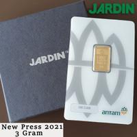 Emas Batangan 3 Gram - Antam - Reinvented/New Press  LM/Logam Mulia 