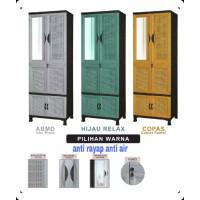 lemari plastik pakaian gantung napolly + kunci