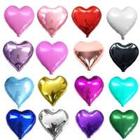 Balon Foil Love / Balon Love 45 cm / Anniversary / Hati / Heart Polos