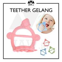 JAW Gigitan Bayi Teether Gelang Bayi / Teether Bayi Silikon