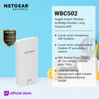 Netgear WBC502 AirBridge Outdoor Long Distance WiFi