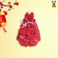 Stelan imlek anak Perempuan Dress Cheongsam,Baby Dress